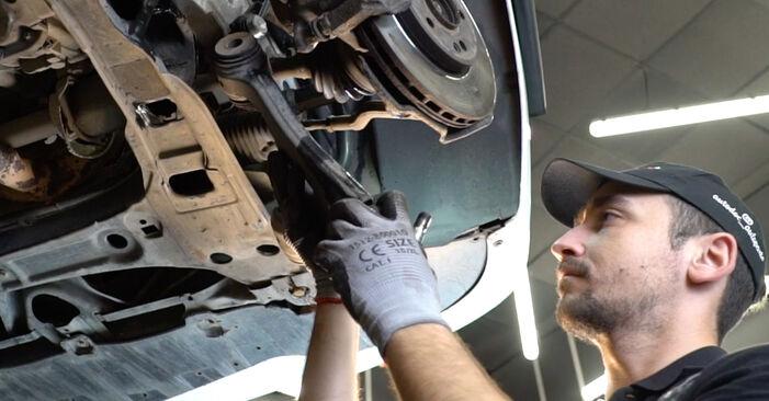 Stap voor stap tips om Mercedes W245 2008 B 150 1.5 (245.231) Draagarm zelf te wisselen