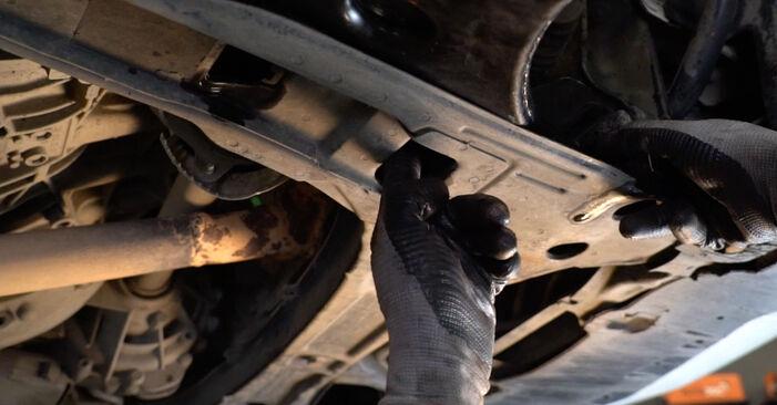 Mercedes W245 B 200 CDI 2.0 (245.208) 2006 Draagarm remplaceren: kosteloze garagehandleidingen