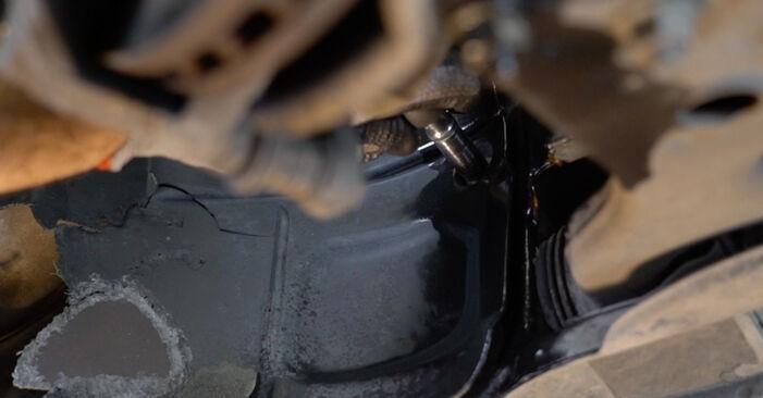 Hoe moeilijk is doe-het-zelf: Draagarm wisselen Mercedes W245 B 180 1.7 (245.232) 2010 – download geïllustreerde instructies