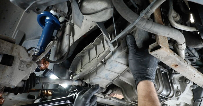 Naredite sami zamenjavo FORD Fiesta Mk5 Hatchback (JH1, JD1, JH3, JD3) 1.3 2005 Rebrasti jermen - spletni vodič