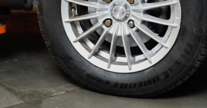 Fiesta Mk5 Schrägheck (JH1, JD1, JH3, JD3) ST150 2.0 2002 1.4 16V Bremsbeläge - Handbuch zum Wechsel und der Reparatur eigenständig