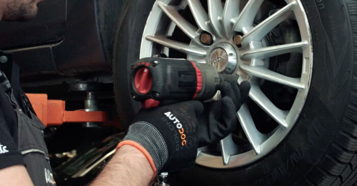 How to remove FORD FIESTA ST150 2.0 2005 Brake Pads - online easy-to-follow instructions