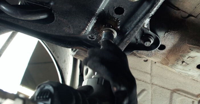 FORD FIESTA 1.4 TDCi Control Arm replacement: online guides and video tutorials