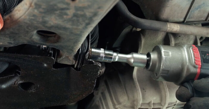 Replacing Control Arm on Ford Fiesta V jh jd 2001 1.4 TDCi by yourself