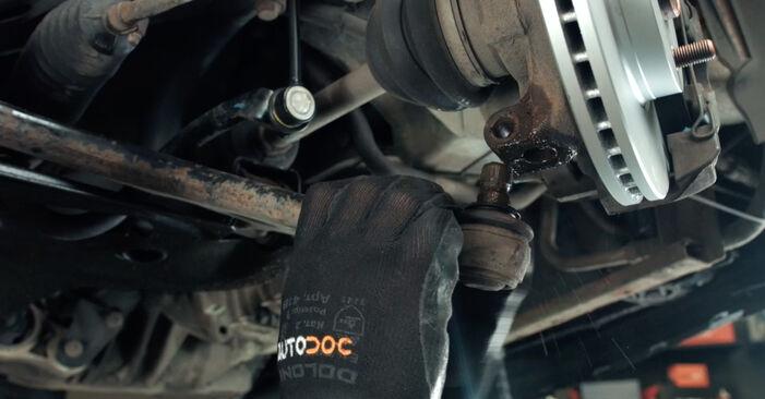 Fiesta Mk5 Hatchback (JH1, JD1, JH3, JD3) ST150 2.0 2002 Control Arm DIY replacement workshop manual
