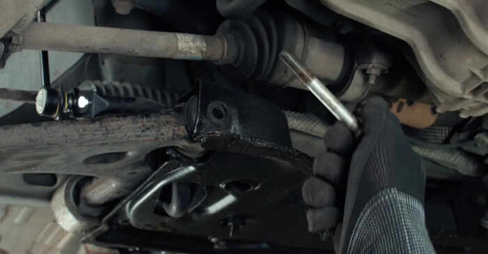 How to change Control Arm on FORD Fiesta Mk5 Hatchback (JH1, JD1, JH3, JD3) 2003 - tips and tricks