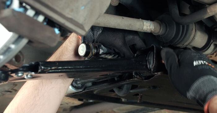 How to replace FORD Fiesta Mk5 Hatchback (JH1, JD1, JH3, JD3) 1.4 TDCi 2002 Control Arm - step-by-step manuals and video guides