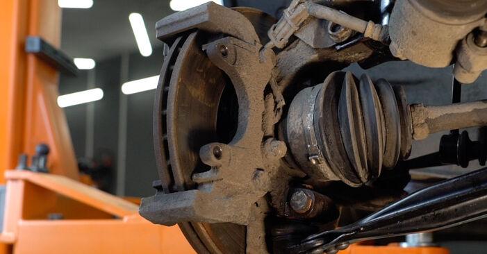 Zafira A (T98) 2.2 16V (F75) 2003 1.8 16V (F75) Bremsbeläge - Handbuch zum Wechsel und der Reparatur eigenständig