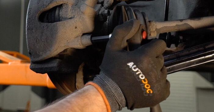 Bremsbeläge beim OPEL ZAFIRA 1.6 CNG (F75) 1999 selber erneuern - DIY-Manual