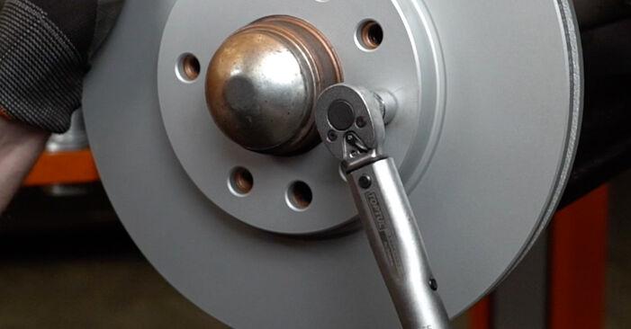 Как да сменим Спирачен диск на OPEL Zafira A (T98) 2004: свалете PDF наръчници и видео инструкции