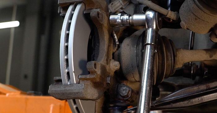 Bremsscheiben Ihres Opel Zafira f75 2.0 DTI 16V (F75) 2000 selbst Wechsel - Gratis Tutorial