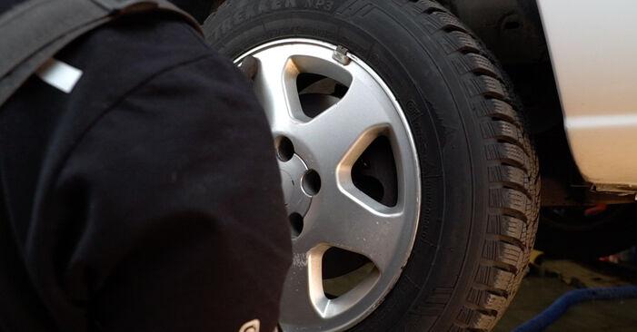Смяна на Opel Zafira f75 1.8 16V (F75) 2001 Спирачен диск: безплатни наръчници за ремонт