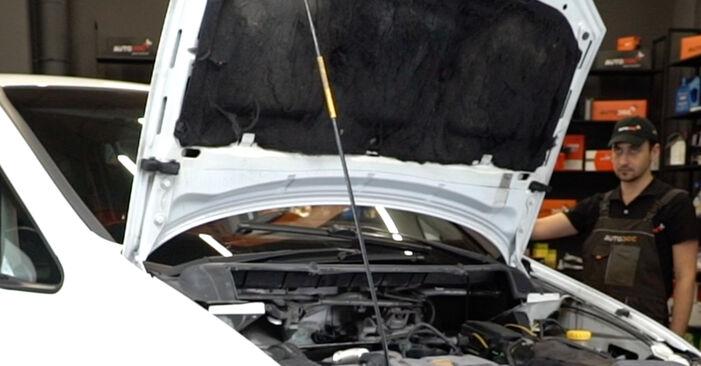 Comment changer Courroie Trapézoïdale à Nervures sur Opel Zafira f75 1999 - Manuels PDF et vidéo gratuits