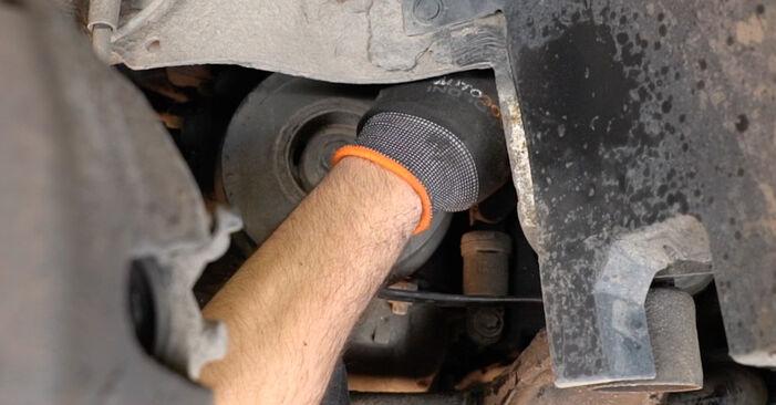 Combien de temps dure le remplacement : Courroie Trapézoïdale à Nervures sur Opel Zafira f75 2000 - manuel PDF informatif