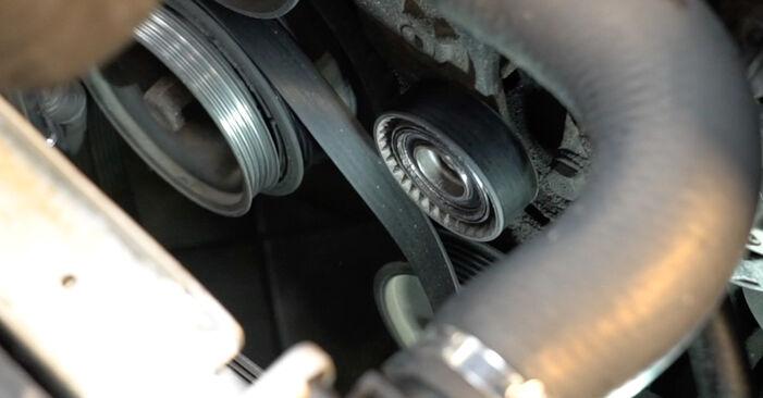 5 Saloon (E39) 525tds 2.5 1997 Poly V-Belt DIY replacement workshop manual