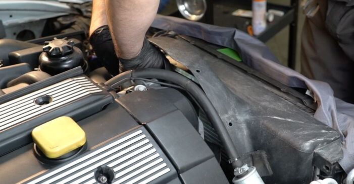 How to remove BMW 5 SERIES 525tds 2.5 1999 Poly V-Belt - online easy-to-follow instructions
