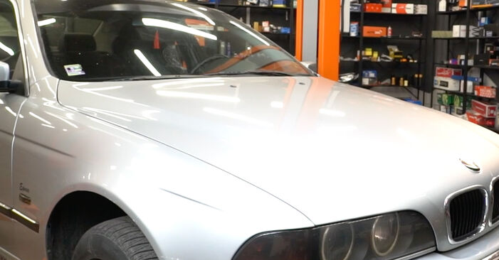 Changing of Poly V-Belt on BMW E39 2003 won't be an issue if you follow this illustrated step-by-step guide