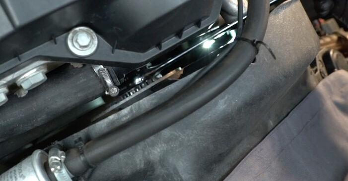 BMW E39 530d 3.0 1997 Poly V-Belt replacement: free workshop manuals