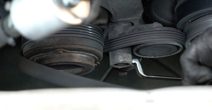 Need to know how to renew Poly V-Belt on BMW 5 SERIES ? This free workshop manual will help you to do it yourself