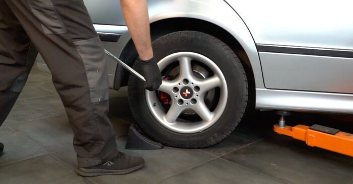 Changing of Brake Discs on BMW E39 2003 won't be an issue if you follow this illustrated step-by-step guide