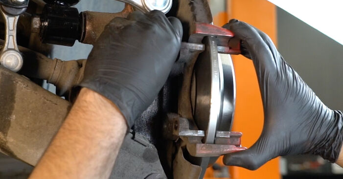 DIY replacement of Brake Discs on BMW 5 Saloon (E39) 528i 2.8 2000 is not an issue anymore with our step-by-step tutorial