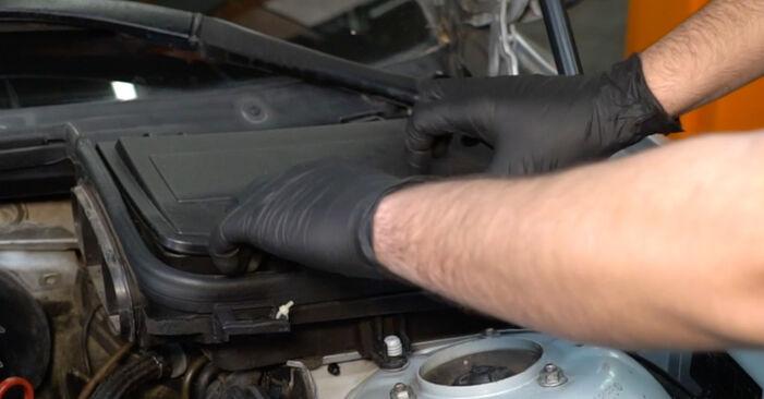 BMW E39 530d 3.0 1997 Brake Discs replacement: free workshop manuals