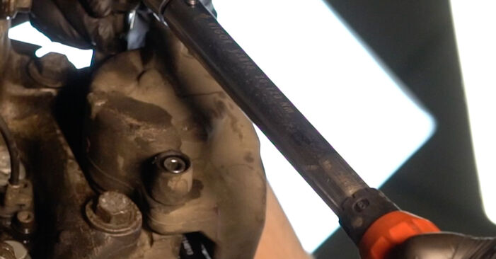 Changing of Brake Pads on BMW E39 2003 won't be an issue if you follow this illustrated step-by-step guide