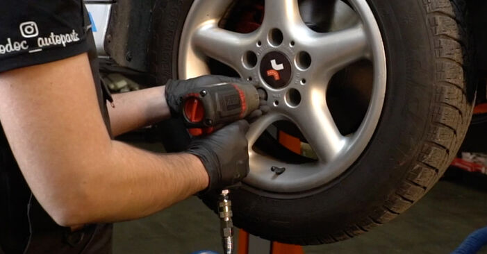 DIY replacement of Brake Pads on BMW 5 Saloon (E39) 528i 2.8 2000 is not an issue anymore with our step-by-step tutorial