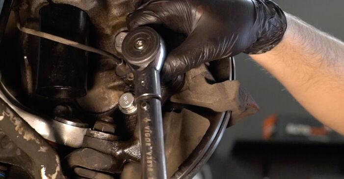 Recommandations étape par étape pour remplacer soi-même BMW E39 1999 525tds 2.5 Roulement De Roues