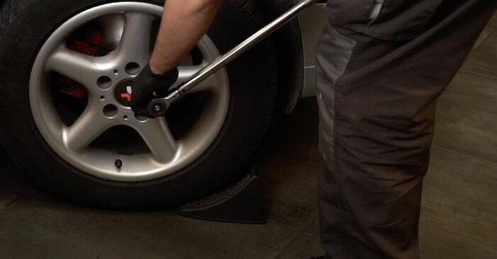 Combien de temps dure le remplacement : Roulement De Roues sur BMW E39 2003 - manuel PDF informatif