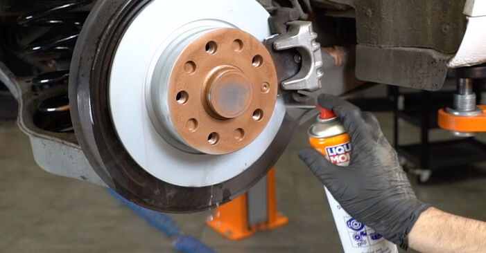Step-by-step recommendations for DIY replacement Audi A3 8pa 2006 1.6 Brake Discs