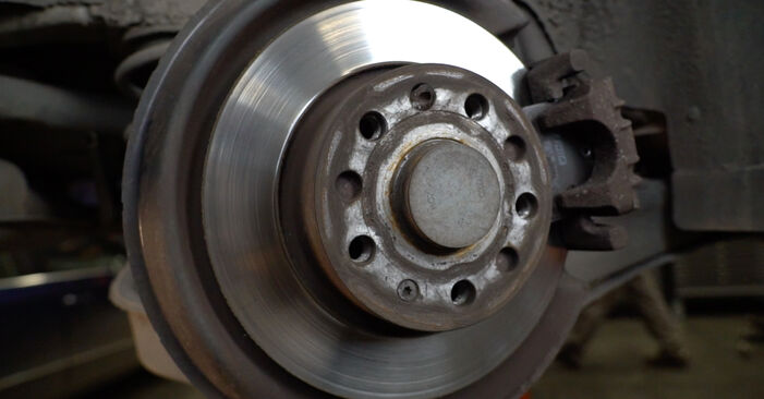 How to replace Brake Discs on AUDI A3 Sportback (8PA) 2008: download PDF manuals and video instructions