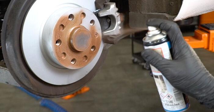 Bremsbeläge Audi A3 8pa 2.0 TDI 2005 wechseln: Kostenlose Reparaturhandbücher