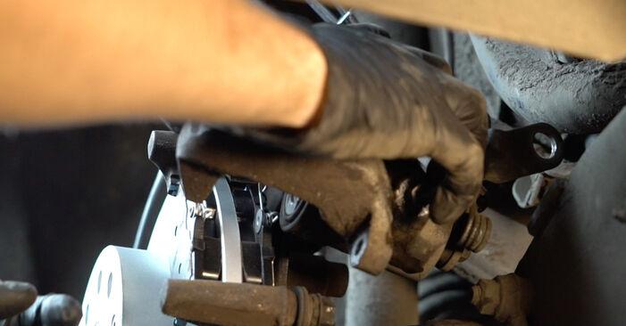 Bremssattel Audi A3 8pa 2.0 TDI 2005 wechseln: Kostenlose Reparaturhandbücher