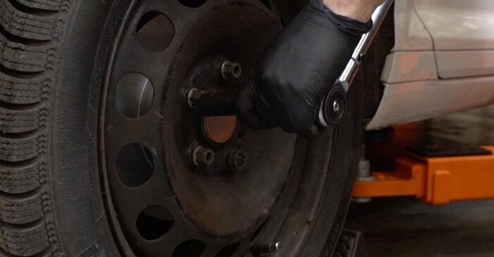 Austauschen Anleitung Bremssattel am Audi A3 8pa 2003 2.0 TDI 16V selbst