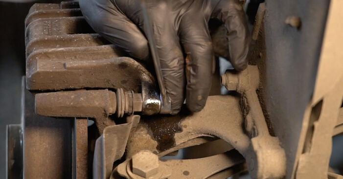 Πόσο δύσκολο είναι να το κάνετε μόνος σας: Ρουλεμάν τροχών αντικατάσταση σε Audi A3 8pa 1.4 TFSI 2009 - κατεβάστε τον εικονογραφημένο οδηγό