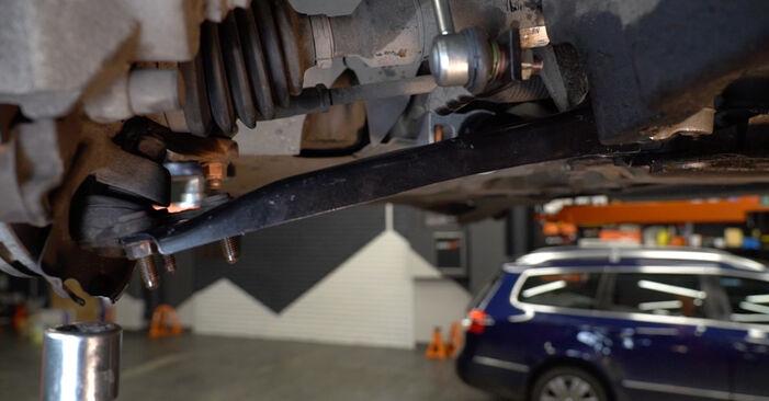 Austauschen Anleitung Querlenker am Audi A3 8pa 2003 2.0 TDI 16V selbst