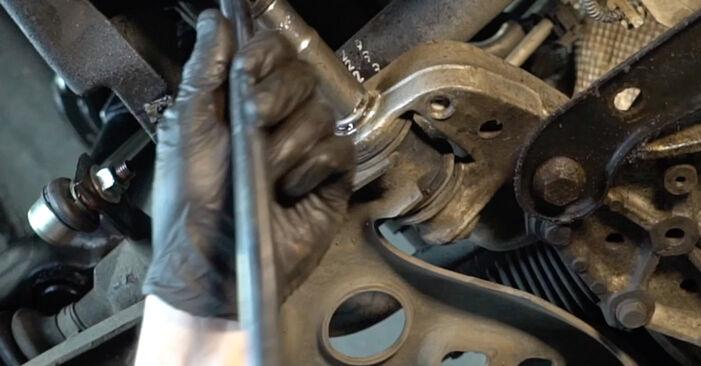Wie schwer ist es, selbst zu reparieren: Querlenker Audi A3 8pa 1.4 TFSI 2009 Tausch - Downloaden Sie sich illustrierte Anleitungen