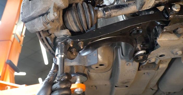 VW Polo 5 Limousine 1.4 2011 Querlenker wechseln: Kostenfreie Reparaturwegleitungen