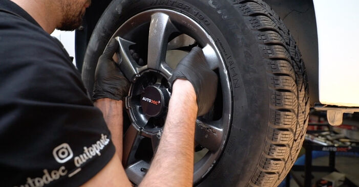 How to remove VW POLO 1.6 2013 Brake Pads - online easy-to-follow instructions