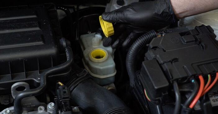 Bremsbeläge Ihres VW Polo 5 Limousine 1.4 2017 selbst Wechsel - Gratis Tutorial