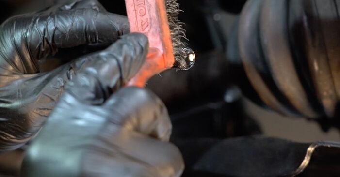 Polo Sedan (602, 604, 612, 614) 1.6 2020 Konec jarmovega droga DIY menjava, priročnik delavnice