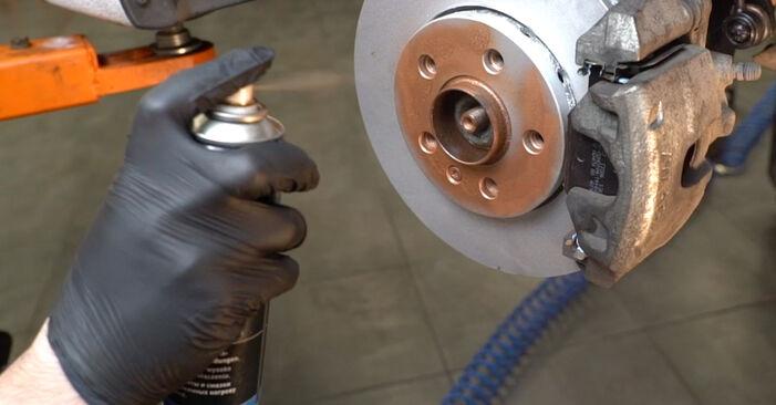 Kako zamenjati Konec jarmovega droga na VW Polo Sedan (602, 604, 612, 614) 2014 - prenesite PDF priročnike in video navodila