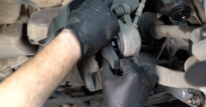A4 Limousine (8K2, B8) S4 3.0 quattro 2009 Bremsscheiben - Tutorial zum selbstständigen Teilewechsel
