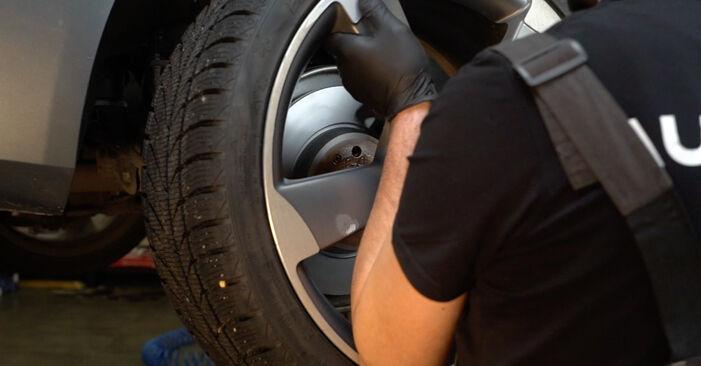 Bremsscheiben Audi A4 B8 Limousine 2.7 TDI 2009 wechseln: Kostenlose Reparaturhandbücher
