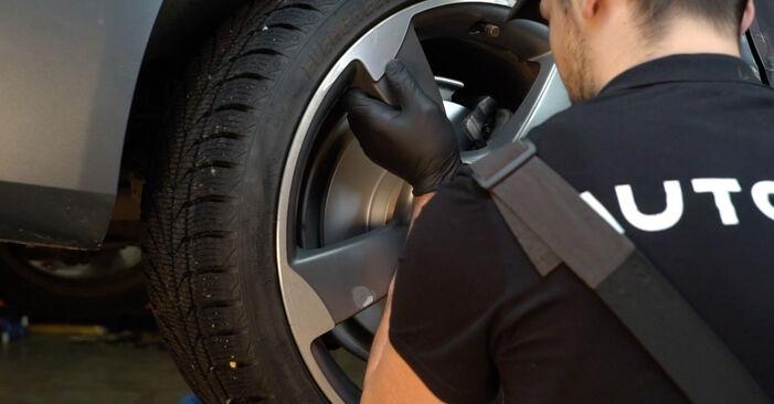 Bremsbeläge beim AUDI A4 2.7 TDI 2014 selber erneuern - DIY-Manual