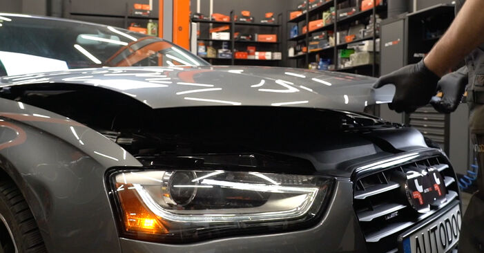Schritt-für-Schritt-Anleitung zum selbstständigen Wechsel von Audi A4 B8 Limousine 2011 S4 3.0 quattro Bremsbeläge