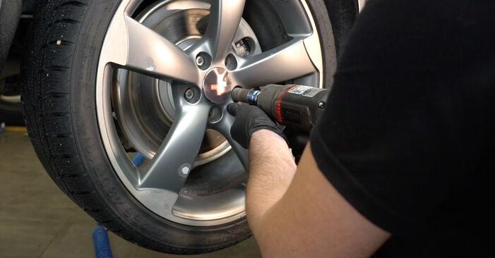 Kaip pakeisti Stabdžių Kaladėlės AUDI A4 Sedanas (8K2, B8) 2012: atsisiųskite PDF instrukciją ir vaizdo pamokas