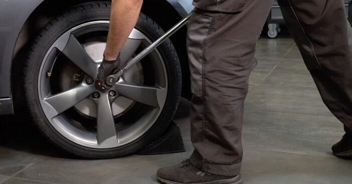 Kako zamenjati Roka na AUDI A4 Sedan (8K2, B8) 2010 - nasveti in triki
