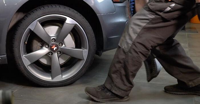 Priporočila korakov za DIY zamenjavo Audi A4 B8 Sedan 2011 S4 3.0 quattro Roka